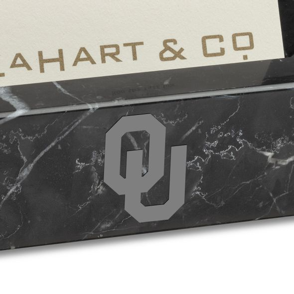 Oklahoma Marble Business Card Holder - Image 2
