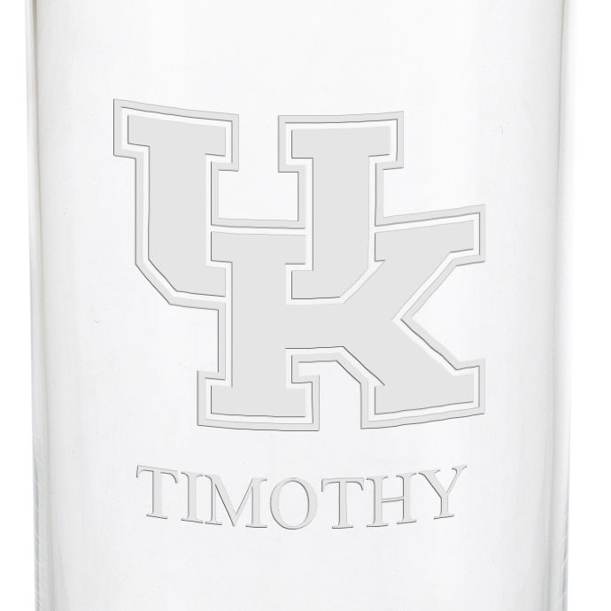 University of Kentucky Iced Beverage Glasses - Set of 2 - Image 3