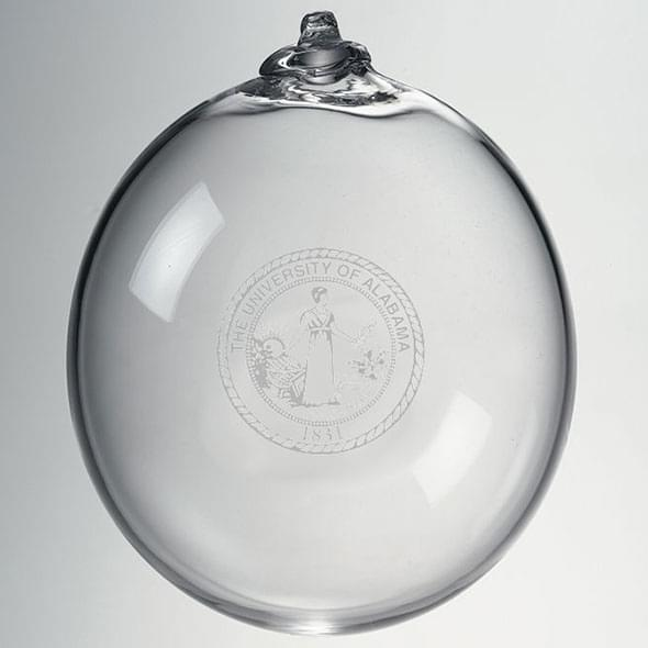 Alabama Glass Ornament by Simon Pearce - Image 2
