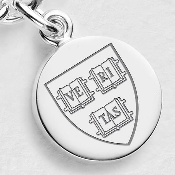 Harvard Sterling Silver Charm - Image 2
