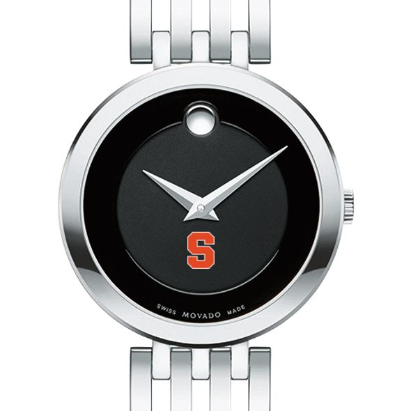 Syracuse University Women's Movado Esparanza Stainless Steel Museum with Bracelet