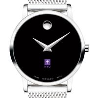 New York University Women's Movado Museum with Mesh Bracelet