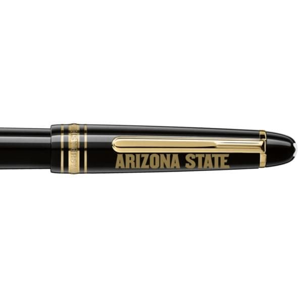 Arizona State Montblanc Meisterstück Classique Fountain Pen in Gold - Image 2