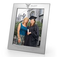 Ball State Polished Pewter 8x10 Picture Frame