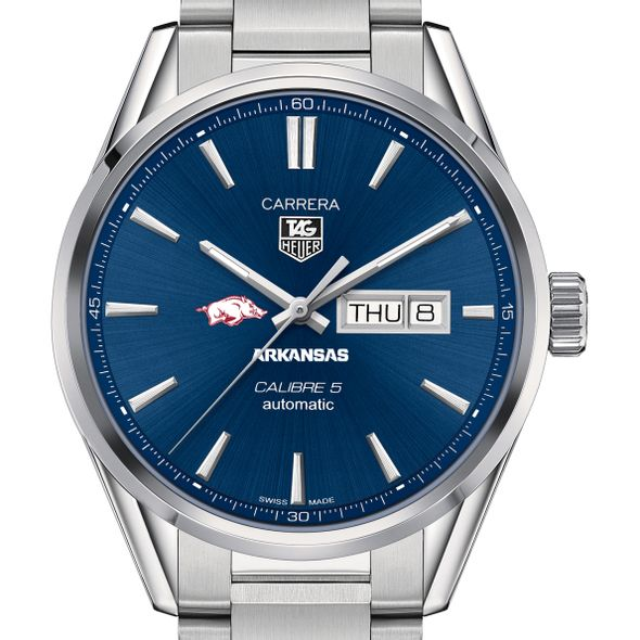 University of Arkansas Men's TAG Heuer Carrera with Day-Date