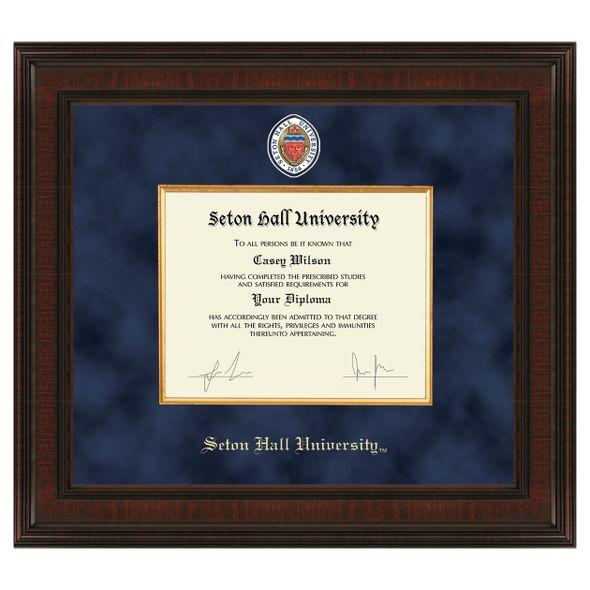 Seton Hall Diploma Frame - Excelsior - Image 1