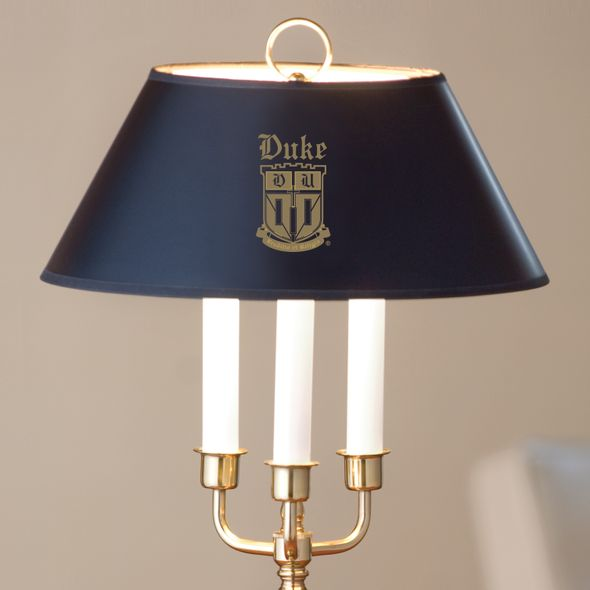 Duke University Lamp in Brass & Marble - Image 2