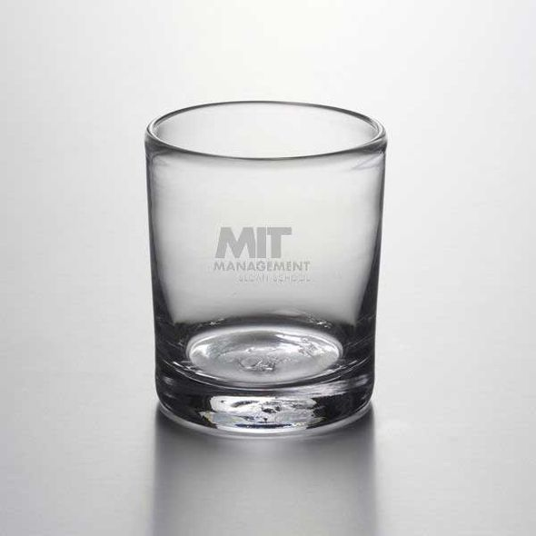 MIT Sloan Double Old Fashioned Glass by Simon Pearce - Image 1