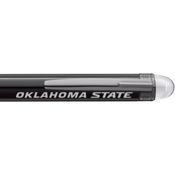 Oklahoma State University Montblanc StarWalker Ballpoint Pen in Ruthenium - Image 2