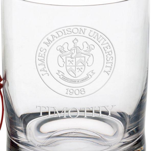 James Madison University Tumbler Glasses - Set of 4 - Image 3