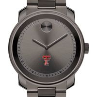 Texas Tech Men's Movado BOLD Gunmetal Grey