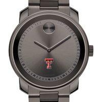 Texas Tech Men's Movado BOLD Gunmetal Grey