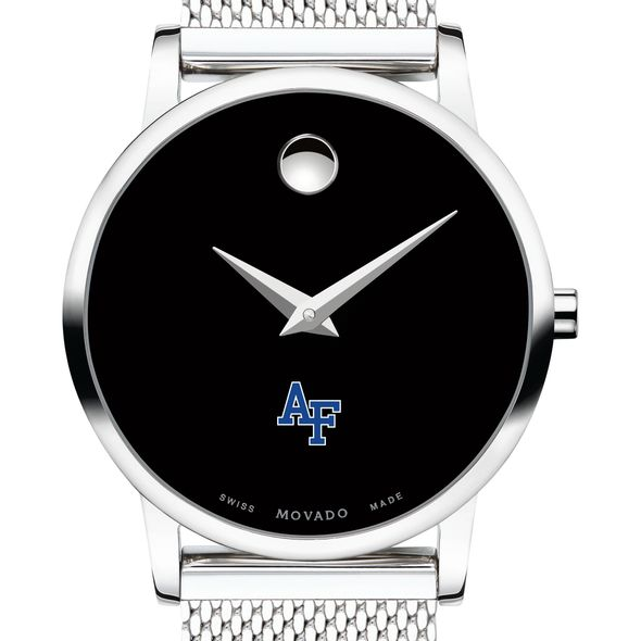 US Air Force Academy Women's Movado Museum with Mesh Bracelet - Image 1