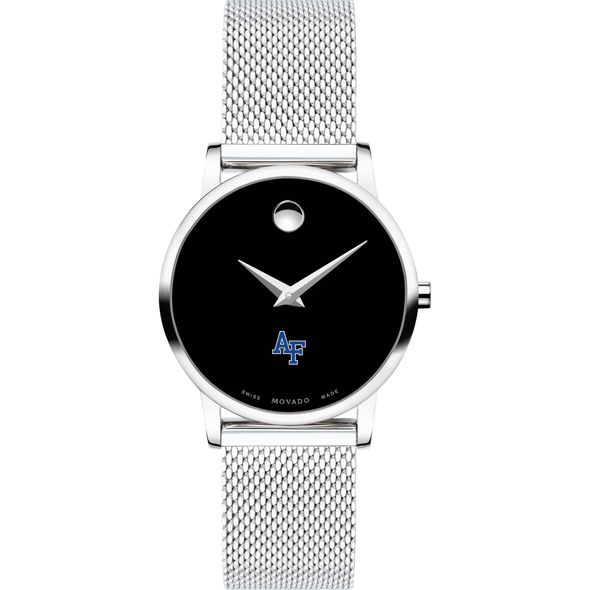 US Air Force Academy Women's Movado Museum with Mesh Bracelet - Image 2