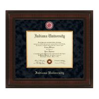 Indiana University Diploma Frame - Excelsior