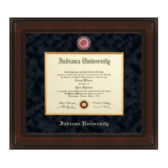 Indiana University Diploma Frame - Excelsior - Image 1