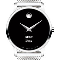 NYU Stern School of Business Women's Movado Museum with Mesh Bracelet