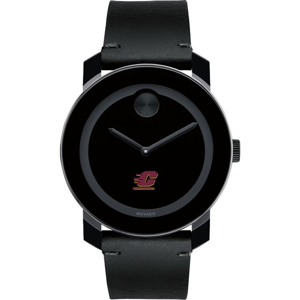 Central Michigan Men's Movado BOLD with Leather Strap - Image 2