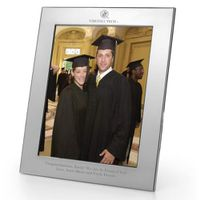Virginia Tech Polished Pewter 8x10 Picture Frame