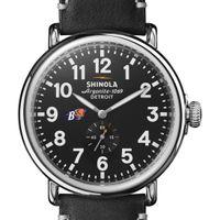 Bucknell Shinola Watch, The Runwell 47mm Black Dial