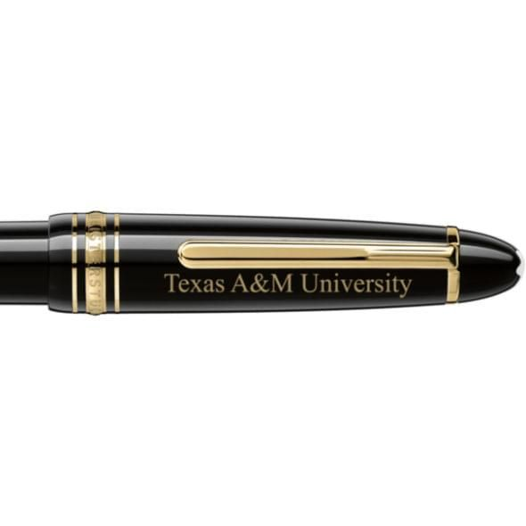 Texas A&M Montblanc Meisterstück LeGrand Pen in Gold - Image 2