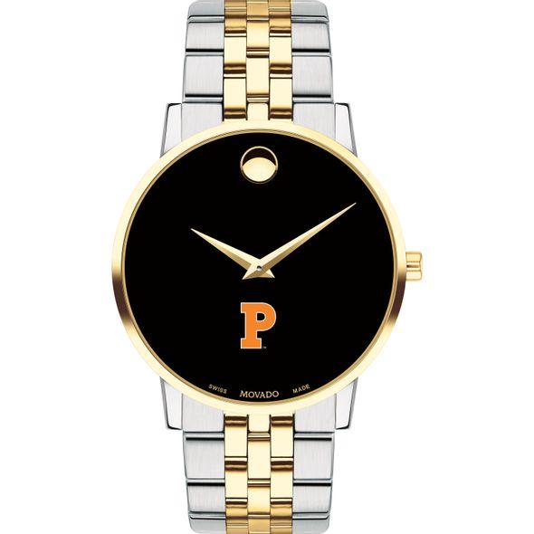Princeton Men's Movado Two-Tone Museum Classic Bracelet - Image 2