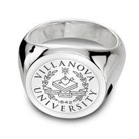 Villanova University Sterling Silver Round Signet Ring