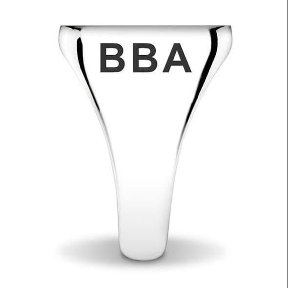 Villanova University Sterling Silver Round Signet Ring - Image 2