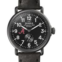 Alabama Shinola Watch, The Runwell 41mm Black Dial