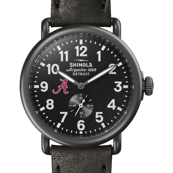 Alabama Shinola Watch, The Runwell 41mm Black Dial - Image 1