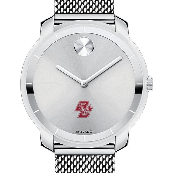 Boston College Women's Movado Stainless Bold 36