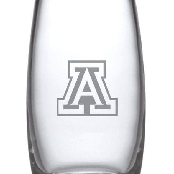 University of Arizona Glass Addison Vase by Simon Pearce - Image 2