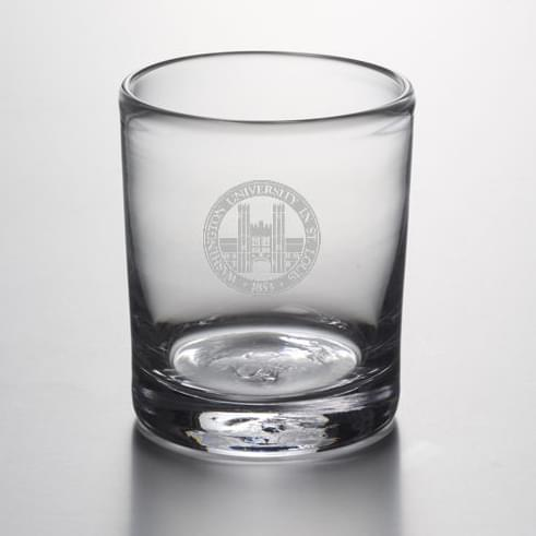 WUSTL Double Old Fashioned Glass by Simon Pearce - Image 2