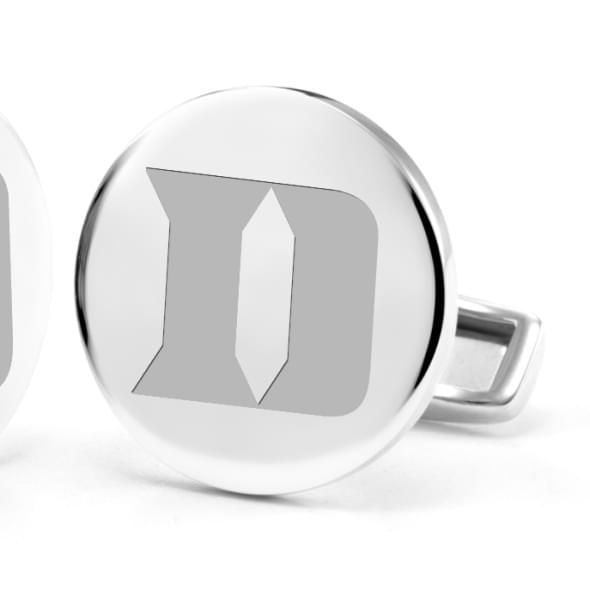 Duke University Cufflinks in Sterling Silver - Image 2
