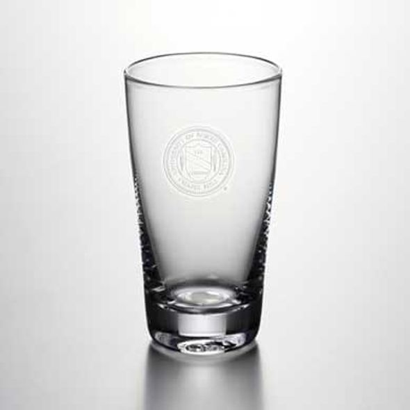 UNC Pint Glass by Simon Pearce