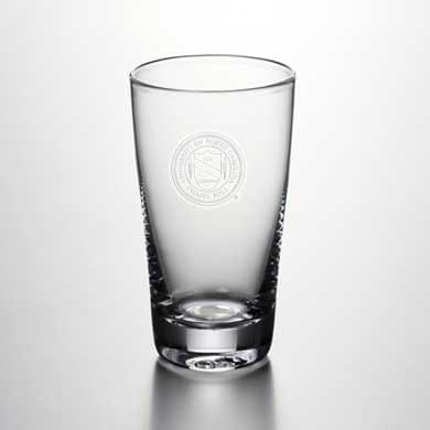 UNC Pint Glass by Simon Pearce