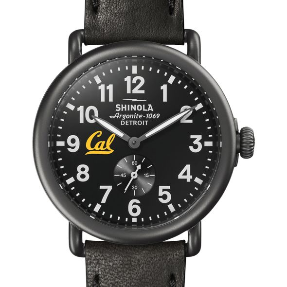 Berkeley Shinola Watch, The Runwell 41mm Black Dial - Image 1
