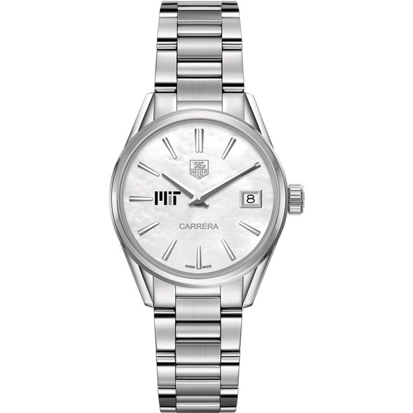 MIT Women's TAG Heuer Steel Carrera with MOP Dial - Image 2