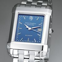 Johns Hopkins Men's Blue Quad Watch with Bracelet