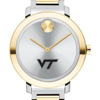 Virginia Tech Women's Movado Two-Tone Bold 34