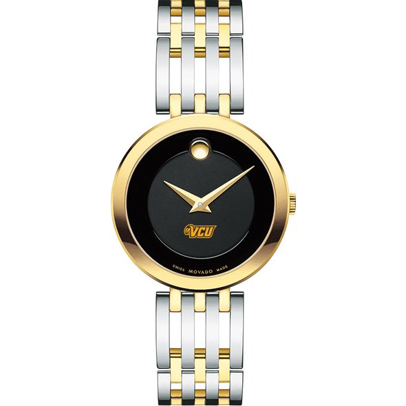 Virginia Commonwealth University Women's Movado Esparanza Two-Tone Museum with Bracelet - Image 2