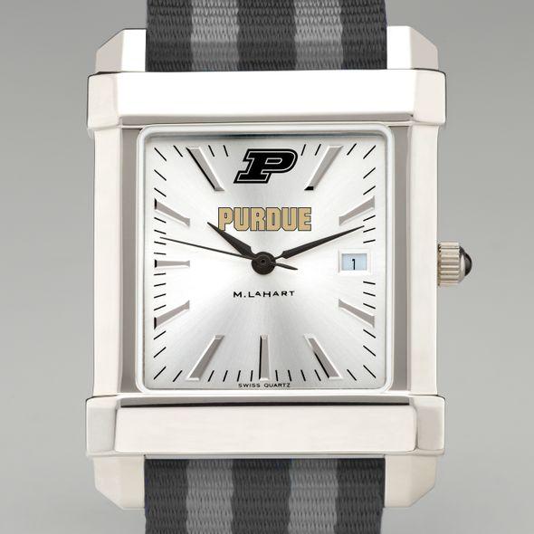 Purdue University Collegiate Watch with NATO Strap for Men