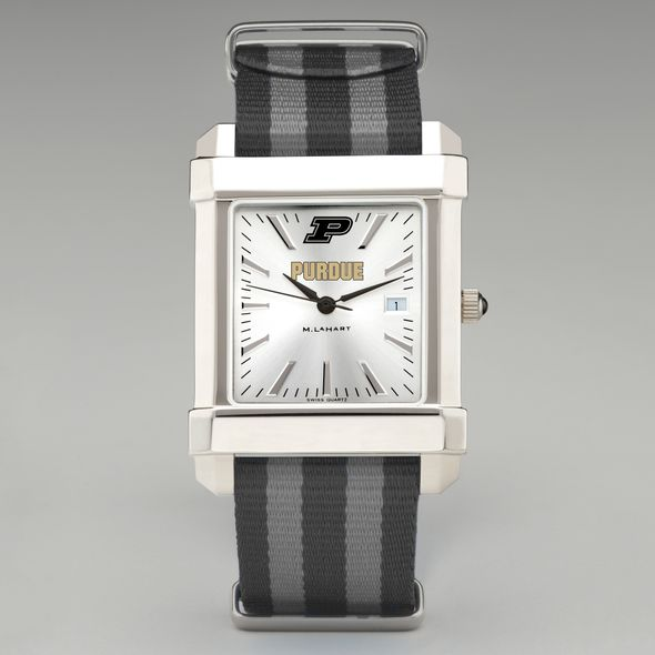 Purdue University Collegiate Watch with NATO Strap for Men - Image 2