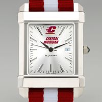 Central Michigan Collegiate Watch with NATO Strap for Men