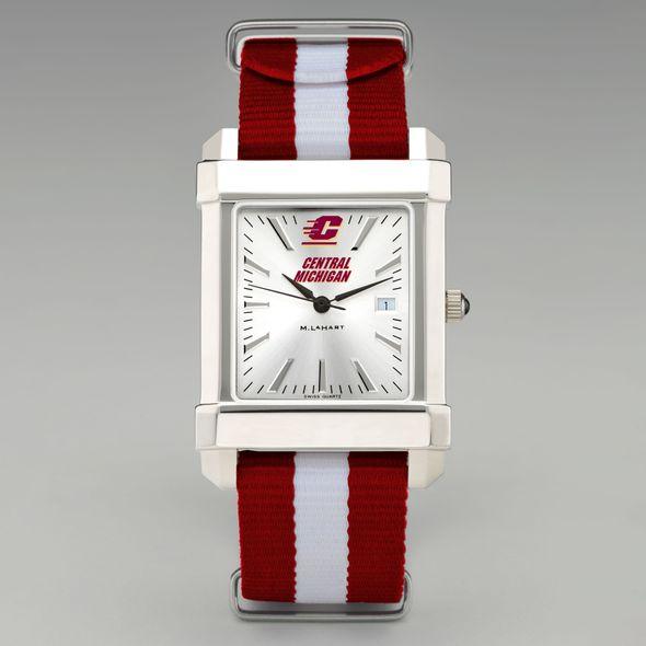 Central Michigan Collegiate Watch with NATO Strap for Men - Image 2
