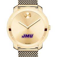 James Madison University Women's Movado Gold Bold 36
