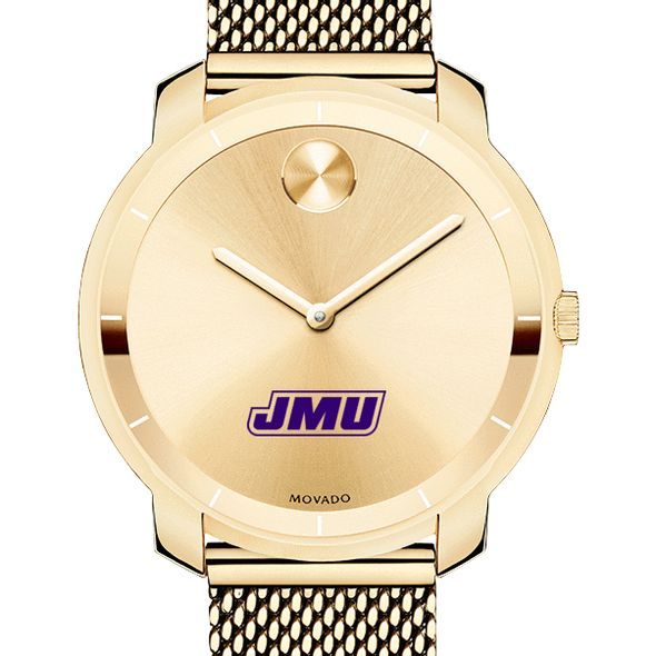 James Madison University Women's Movado Gold Bold 36