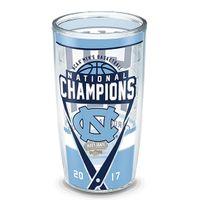University of North Carolina 16 oz. Tervis Tumblers - Set of 4- Championship Edition
