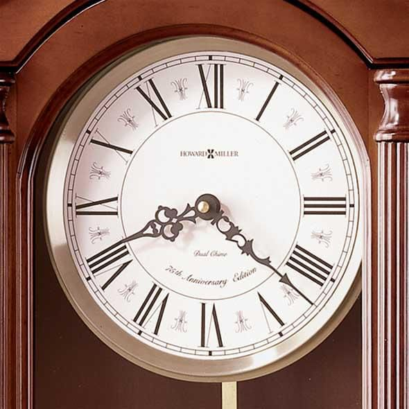 Brown Howard Miller Wall Clock - Image 3