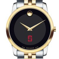 Stanford University Men's Movado Two-Tone Museum Classic Bracelet